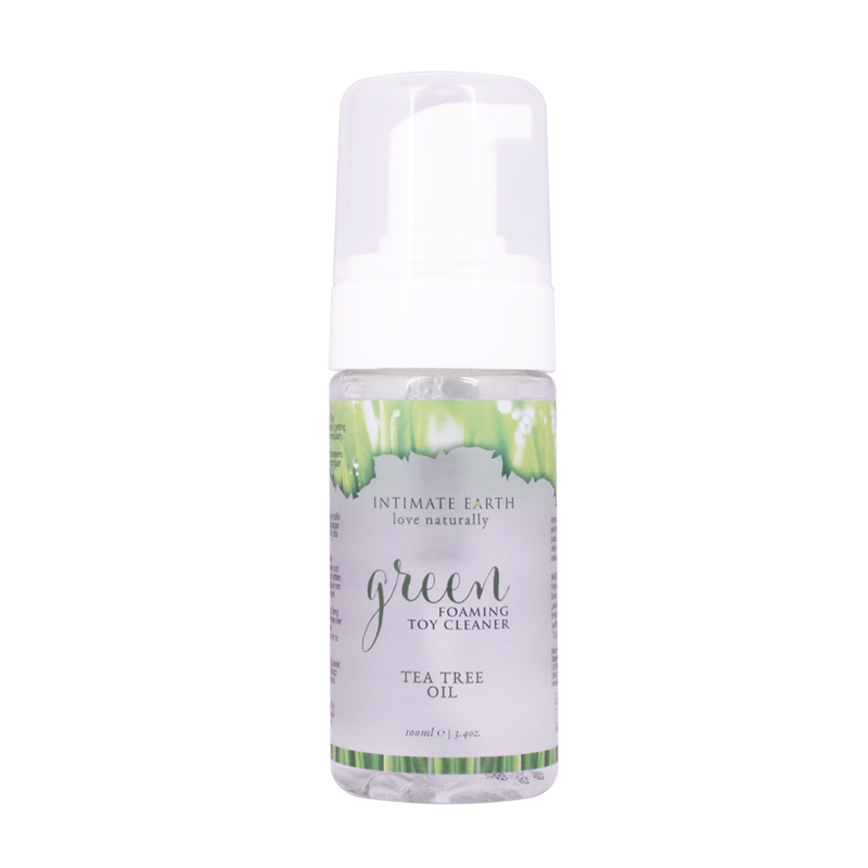 Intimate Earth - Green Foaming Toy Cleaner - 100ml